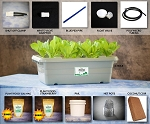 Food Rising Mini-Farm Grow Box 2.0 (Strawberries Starter Kit with 4-hole Lid)